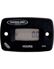 Hardline Hour Meter With Resettable Timer