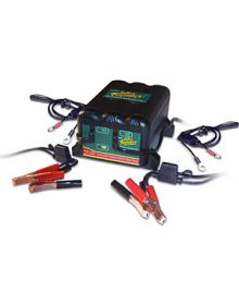Battery Tender 2 Bank Charger - For 2 Batteries