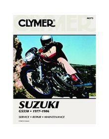 Clymer Repair Manual M-373 Suzuki 77-86 - M373