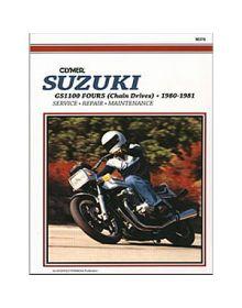 Clymer Repair Manual M-378 Suzuki 80-81 - M378