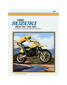Clymer Repair Manual M-379 Suzuki 81-88 - M379