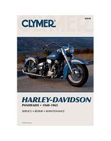 Clymer Repair Manual M-418 Harley Davidson 48-65