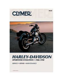 Clymer Repair Manual M-428 H-D 86-90 - M428