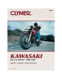 Clymer Repair Manual M-450 Kawasaki 80-85