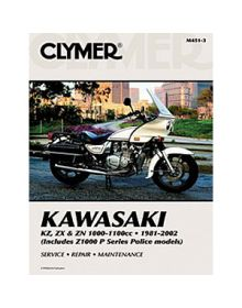 Clymer Repair Manual M-451-3 Kawasaki 81-02 - M451