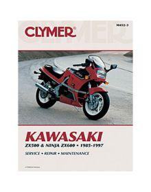 Clymer Repair Manual M-452-3 Kawasaki 85-97 - M452