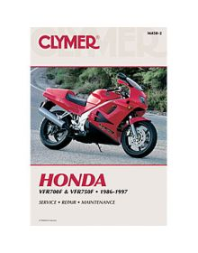 Clymer Repair Manual M-458-2 Honda 86-97