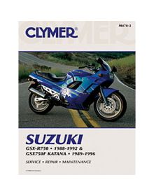 Clymer Repair Manual M-478-2 Suzuki GSX750