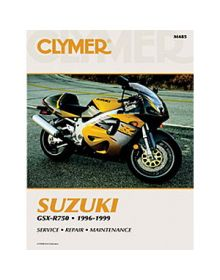 Clymer Repair Manual M-485 Suzuki 1996-99