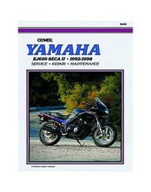 Clymer Repair Manual M-494 Yamaha 92-98