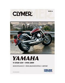 Clymer Repair Manual M-495-4 Yamaha V-Star