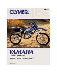 Clymer Repair Manual M-497-2 Yamaha YZ125