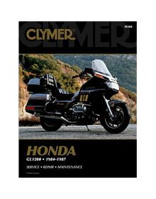Clymer Repair Manual M-504 Honda 84-87 - M504