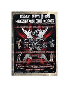 Video Crusty Demons Of Dirt Dvd - Night Of World Records