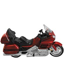 New Ray Toys Honda GL1800 Bike Replica Burgundy