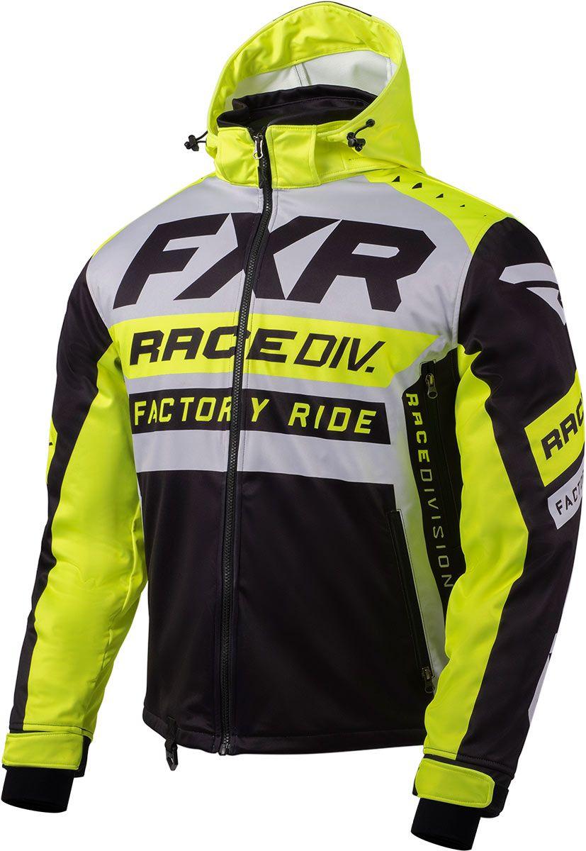 Gray//Hi-Vis//Black - Medium FXR Mens RRX Jacket