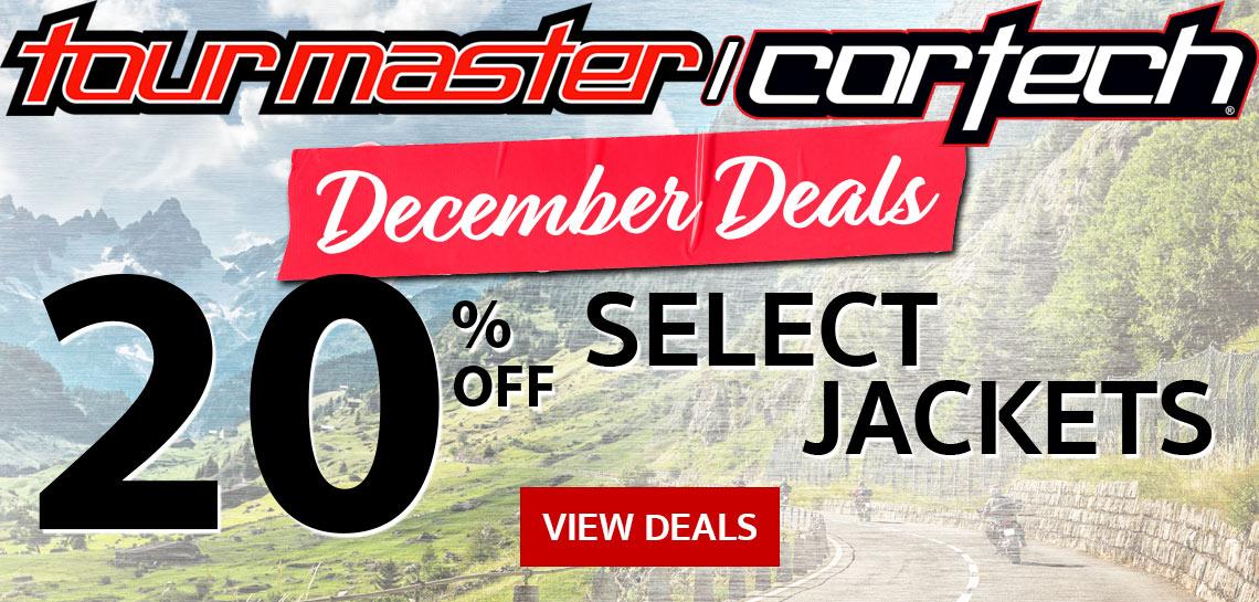 2018 Tourmaster December Deals