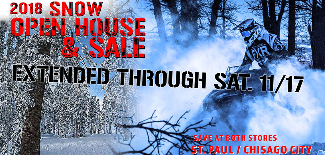2018 Snow Open House and Sale Extended