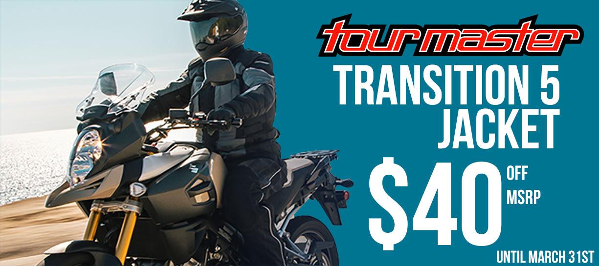 Transition 5 Jacket Sale