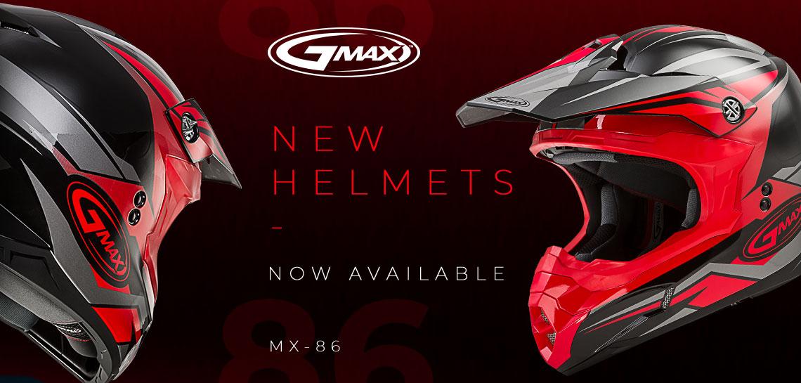 GMax MX86 Helmets