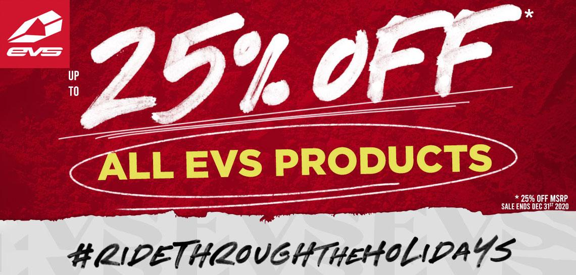EVS Black Friday 2020 25% off