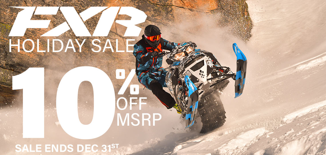 FXR Holiday Sale