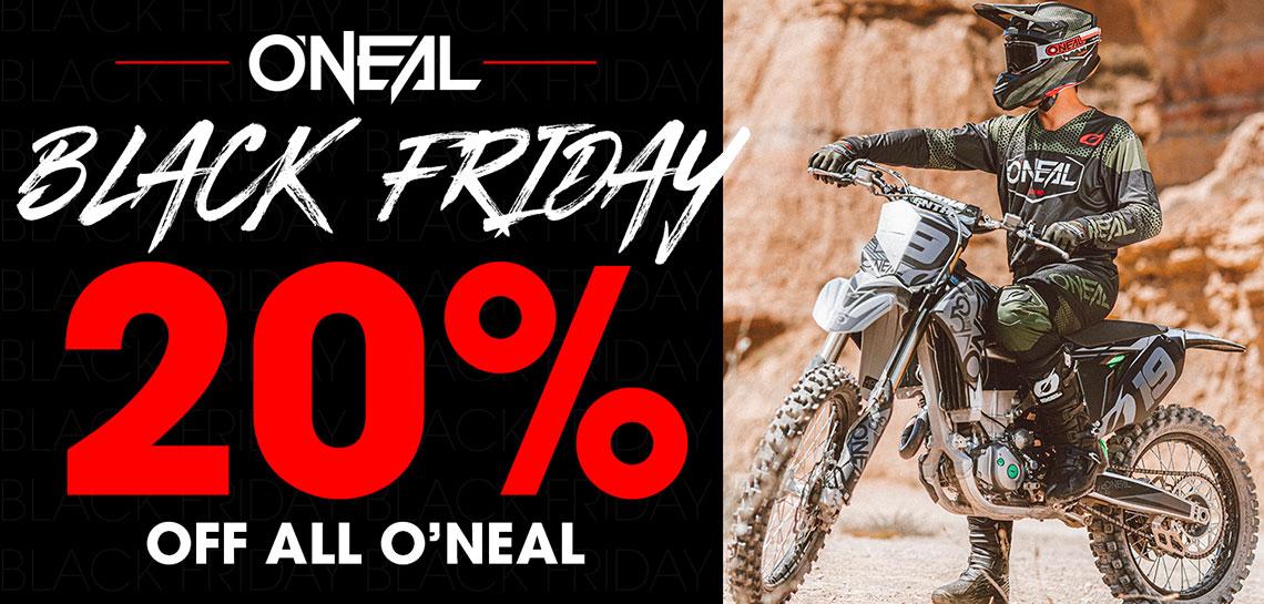 O'Neal Black Friday