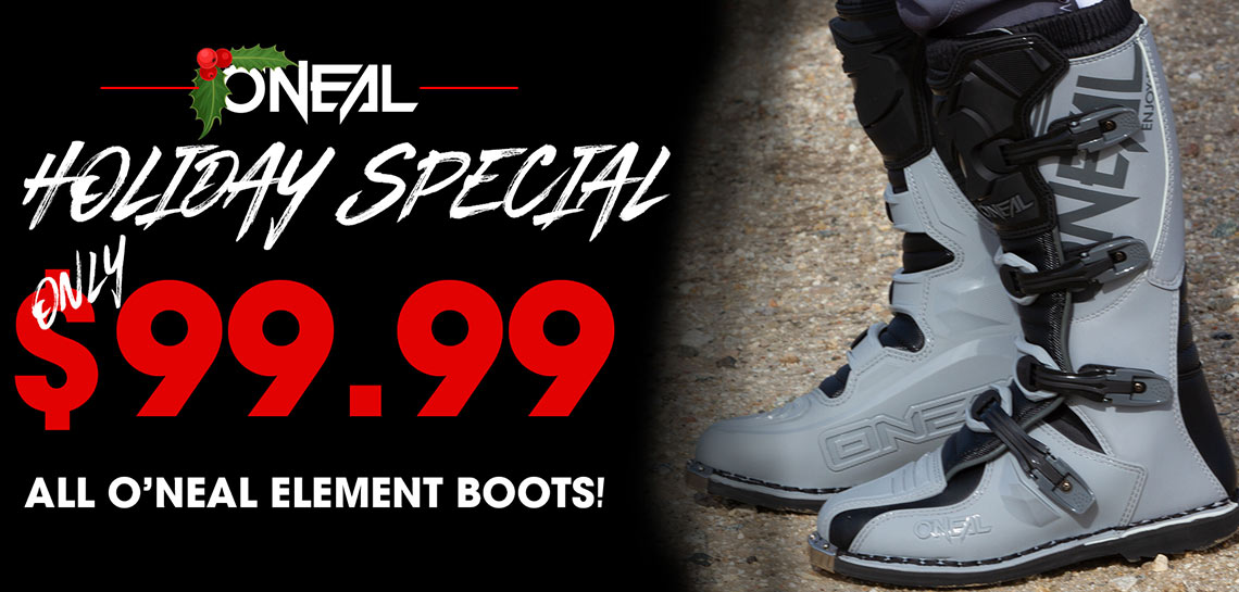 O'Neal Element Holiday Sale