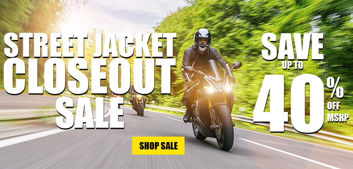 Street Jacket Closeouts