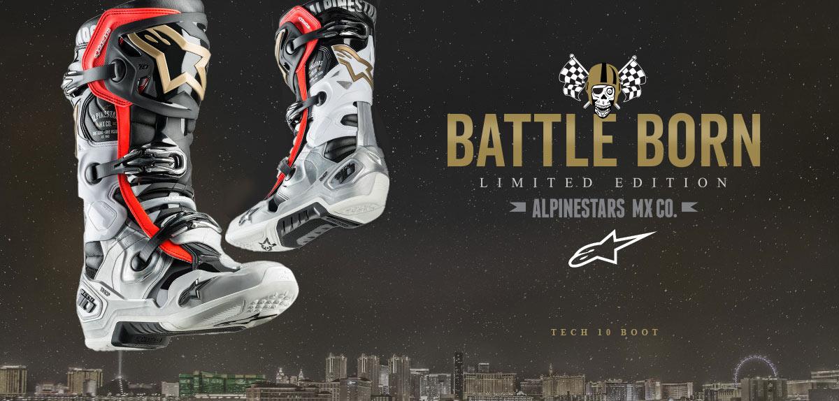 Alpinestars Tech 10 LE Battleborn