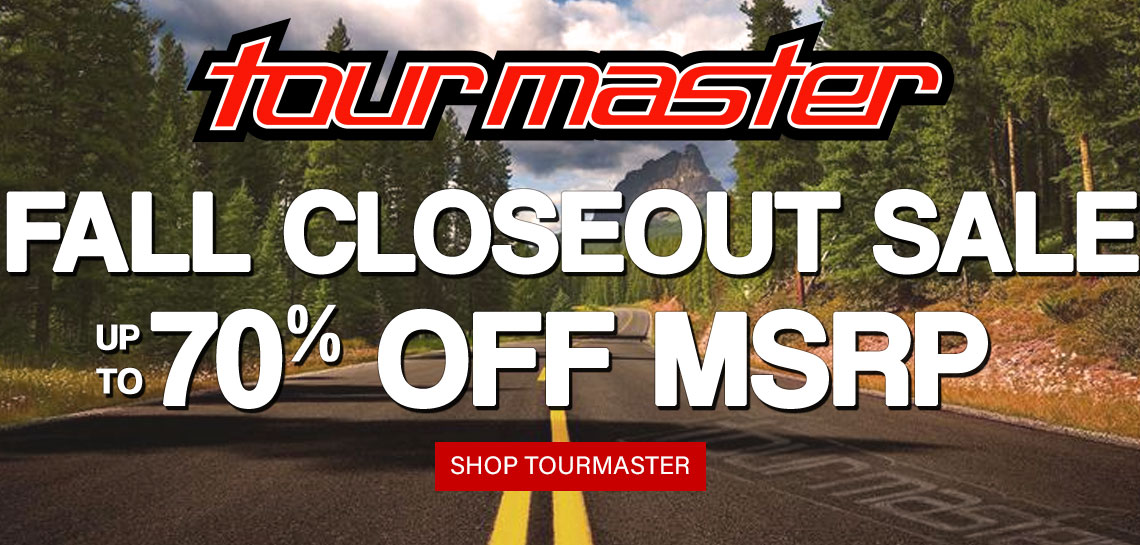 Tourmaster Fall 2020 Sale